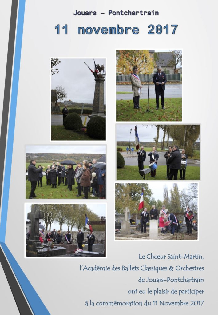 Affiche Commémoration du 11 novembre